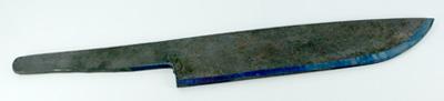 剣鉈用鋼材 (割込) 180mm