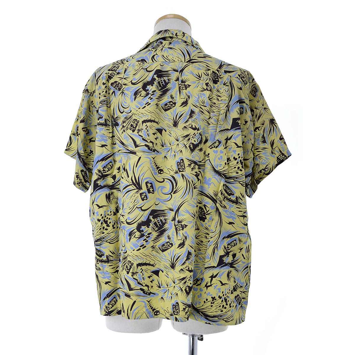 fa5815edc kanful: VAN HEUSEN 50 s gokuu Japanese Hawaiian short sleeve shirt ...