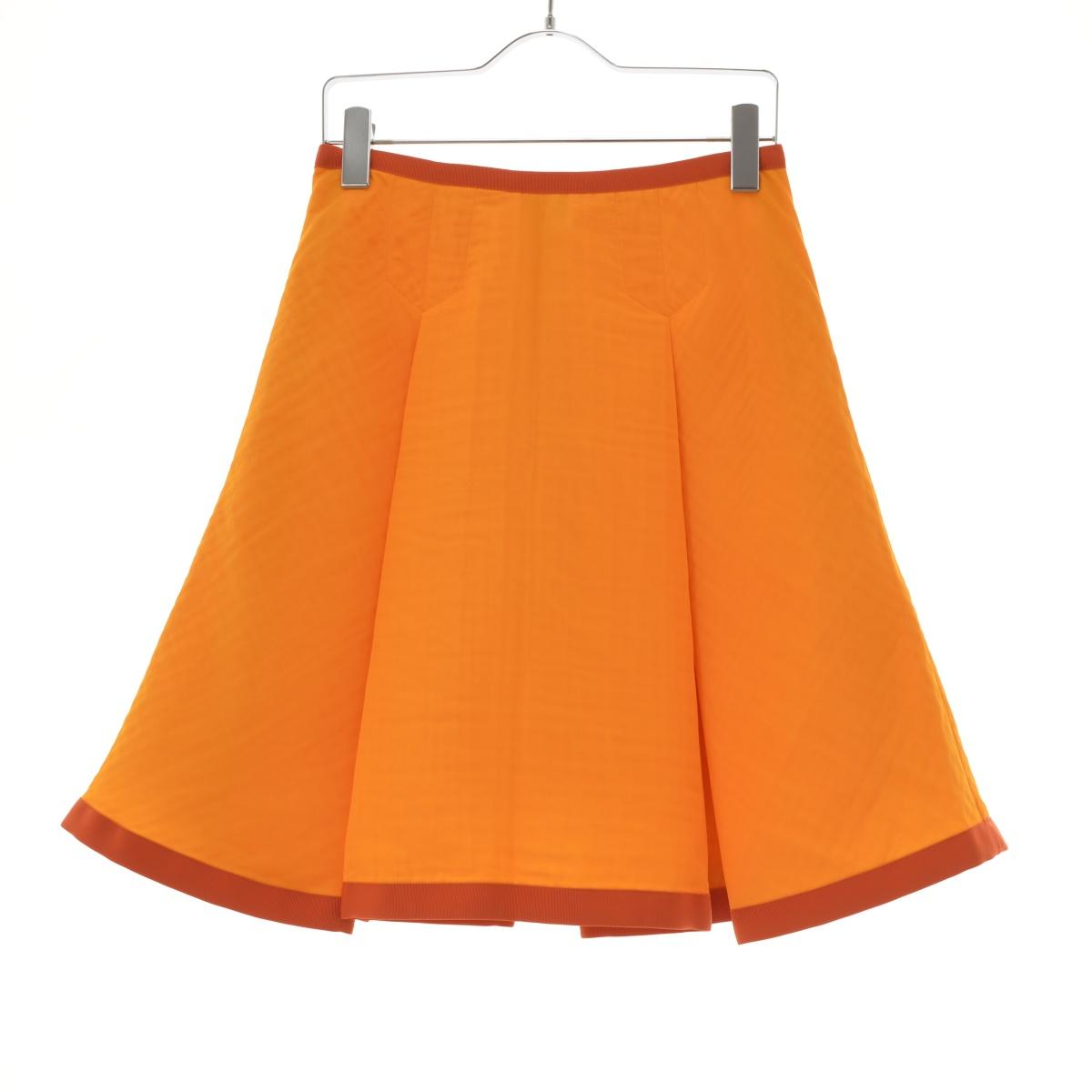 sacai luck / サカイラック15SSLU891 ボックスプリーツフレアスカート【送料無料】【cabibcda-l】