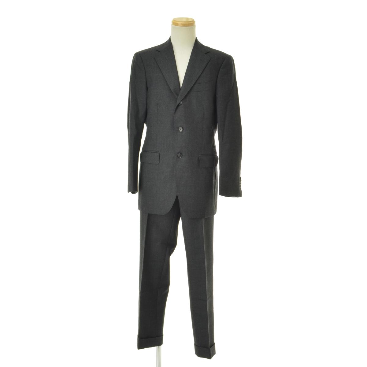 BEAMS / ビームスCustom Tailor BEAMS kynochカイノック 3ボタンウールスーツ【cacaaecd-m】