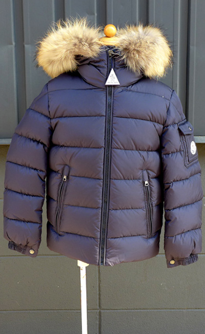 3d963c328 Children's clothes zip ups and downs jacket down coat size 8A MONCLER-BYRON  4198625 68352 hard rare model for the down blouson kids Jr. child with the  ...