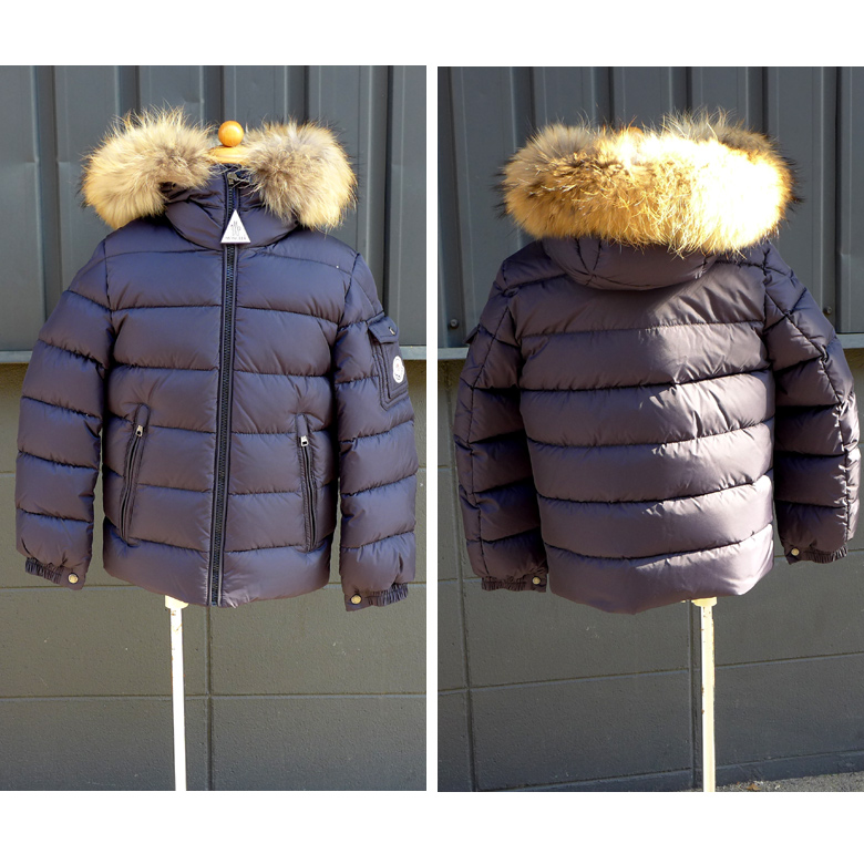 29369a5e2 Children's clothes zip ups and downs jacket down coat size 8A MONCLER-BYRON  4198625 68352 hard rare model for the down blouson kids Jr. child with the  ...