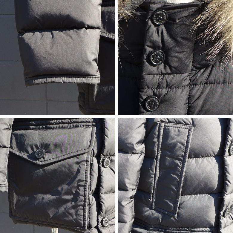 682978e0c Children's clothes zip ups and downs jacket down coat size 8A cru knee  /Cluny hard rare model for the down blouson kids Jr. child with the MONCLER  ...