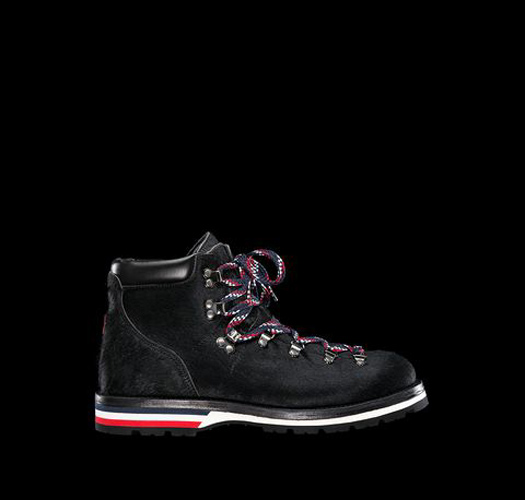8736b21bbd8c Monk rail MONCLER men Harako trekking boots sneakers shoes boots shoes  genuine leather leather mountain boots casual boots MONCLER-PEAK