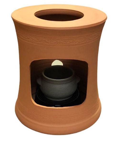 掃除しやすい電気コンロ付き、ヨモギ蒸し、温活、ヨモギ蒸しサロン用、宮美人、波の子宮の健康の自宅黄土ヨモギ蒸し椅子セット