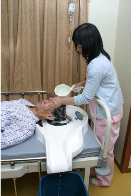 入浴用品、福祉・介護、、介護洗髪器
