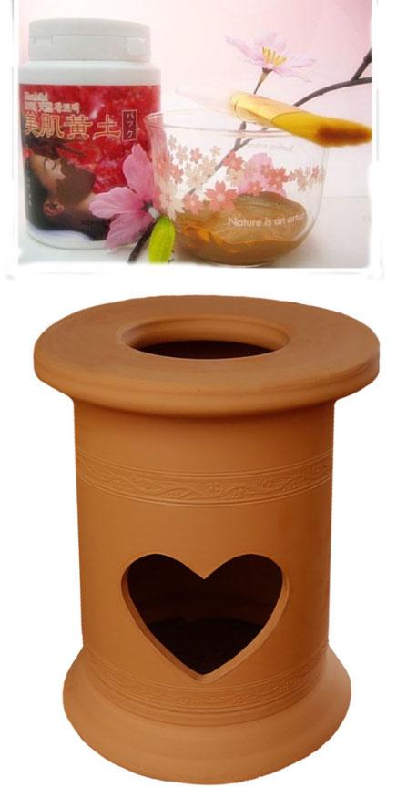 ヨモギ蒸し、よもぎ蒸し自宅、子宮の健康の自宅黄土ヨモギ蒸し椅子セット、黄土壺、美肌黄土で製作した黄土ヨモギ蒸しセット