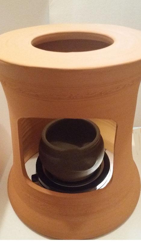 ヨモギ蒸し、温活、ヨモギ蒸しサロン用、宮美人、波の子宮の健康の自宅黄土ヨモギ蒸し椅子セット、黄土壺、蓋付き、美肌黄土で製作した黄土ヨモギ蒸しセット