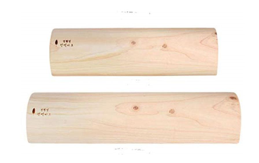 最長39-40センチのヒノキの木枕、1個の価格