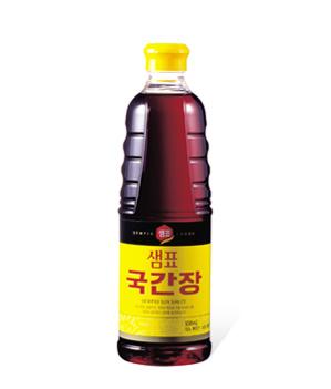 スープやチゲに使用する醤油です 新入荷 流行 韓国食材 調味料類 醤油 本物 韓国食品 調味料 泉標 930ml グック醤油