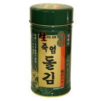 【韓国食品/韓国食材/海苔/ギフトセット】 竹塩岩のりセット(6切×180枚×1缶)