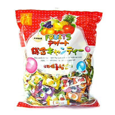 【韓国食品/キャンディー/飴/フルーツ味/お菓子】  【セール】フルーツ味の飴 300g