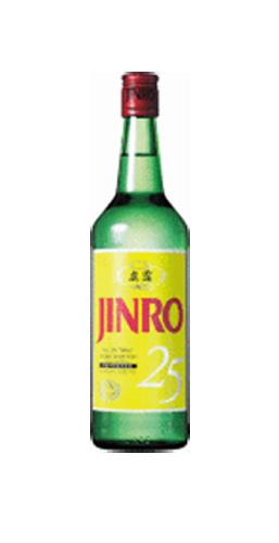 【JINRO】眞露(ジンロ)焼酎700mlx12本 [1本当り\778(税別)]