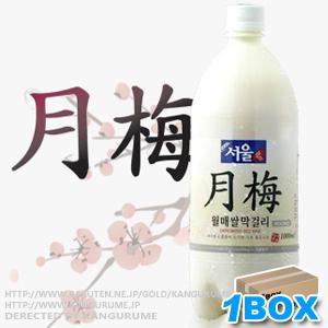 Seoul-plum makgeolli PT 1L×12 book ■ Korea food ■ cheap rice and Korea rice / ソウルマッコリ / gifts / Korea food material / Korea cuisine / Korea souvenir and liquor / alcohol / Korea / Korea, rosacea /