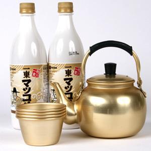 Of the old Kettle Marco reset ■ Korea food ■ makgeolli gift