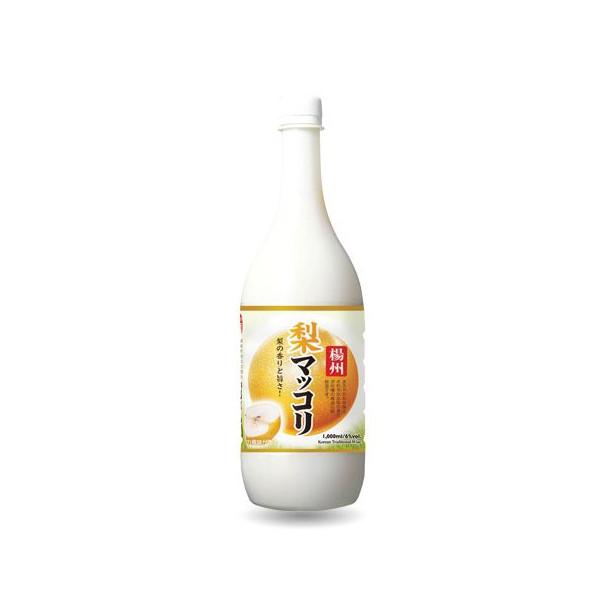 State of Yang 'pears' makgeolli 1 L ■ Korea food ■ Korea food materials and Korea cuisine and Korea souvenir / sake sake / Korea liquor / Korea alcohol / makgeolli Korea makgeolli and cheap