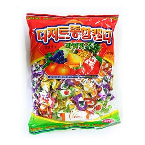 Fruit candy 800 g ■ Korea food ■ smell of fresh fruit spread in the mouth. Korea traditional desserts and Korea, sweets / candy / candy / cheap
