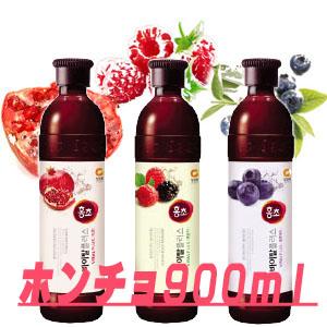 """★Discount! """"It is Motoiri pomegranate, blueberry, Wild Strawberries """"■ Korea food ■ food import ■ import food ■ KARA ■ Korea food ■ vinegar drink ■ health-promoting vinegar ■ diet vinegar"""" EVENT ★ KARA rouge vinegar """"ホンチョ"""" 900 ml"""