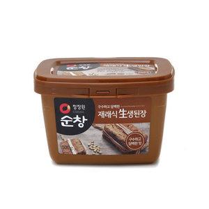 Sunchang miso 500 g ■ Korea food ■ Korea cuisine / Korea food materials / seasoning / Korea source and Korea miso / conventional miso and miso