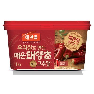 "1 kg of ""ヘチャンドル"" asskicking hot コチュジャン ■ Korea food ■ Nippon Television ZIP/ sushi / Korean food / Korea food / seasoning / Korea source / red pepper / コチュジャン / spice / capsaicin / sharp taste"