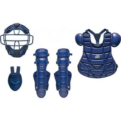 ゼット ZETT 少年軟式 キャッチャー 防具 4点セット(マスク スロートガード プロテクター レガーツ) BL727 ネイビー 展示会限定品 ベースボール 野球