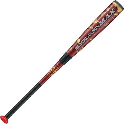 ZETT 軟式 FRPバット BLACK CANNON MAX ブラックキャノン BCT35904 レッド 84cm720g平均 トップバランス 野球 ベースボール