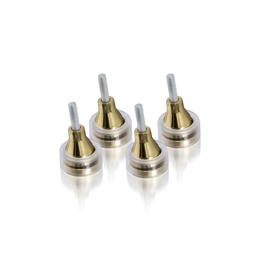 【中古】SoundCare インシュレーター Super Spikesシリーズ ゴールド ネジ込みタイプ 6mm/4個入り SS6GOLD【使用済開封品/状態良/付属品完備】