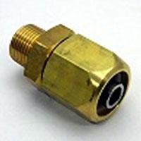 黄銅製ブレードロック 黄銅製ブレードロックくい込み口×RオネジTBB-1508 15×R1 上等 2mm 超目玉