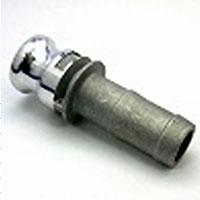レバー式カップリング(アルミニウム製)ホースシャンクアダプター(Eタイプ)オス×ホース口 E-125