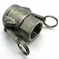 レバー式カップリング(ステンレス316相当)メネジカプラー(Dタイプ) メス×RcメネジD-Rc3/4(20A)  SUS