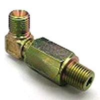 スイベルジョイントSK式スイベルジョイント 90℃タイプSK34 平行ガスオネジ(でっぱりシート)×RオネジSK34-19 | G3/4×R3/4(mm)
