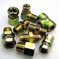 鉄製高圧継手 AU07タイプ並行ユニファイオネジ(根元Oリング付)×RcガスメネジAU07-26U16 | G1・5/8U×Rc1
