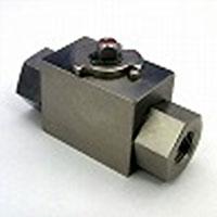 高圧ボールバルブ二方高圧ボールバルブ(ハンドルなし) RcメネジFB26-SC4JN   R3/4(mm)【送料無料】