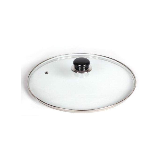 万能アルミ鍋用のガラス製ふたシンプルで豊富なサイズ 他の鍋にも使用OK 評判 万能ガラスふた 22cm用 安値