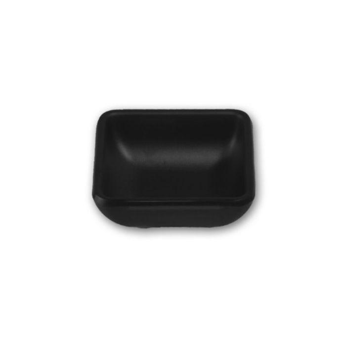 軽くて割れにくい おしゃれな新開発メラミン食器 スタイリッシュ メラミン食器 年末年始大決算 Black Mat たれ角皿 最安値