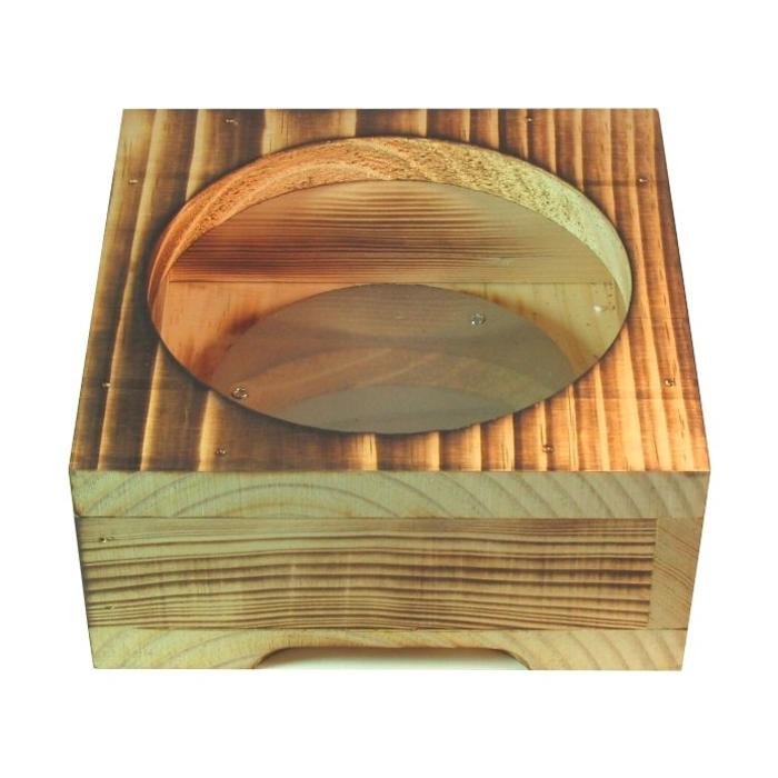 安全 安心 予約販売 保温力バツグン やけど防止 全国どこでも送料無料 箱形 19cm用 木製受け皿