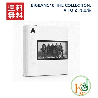 【K-POP・韓流】 BIGBANG10 THE COLLECTION: A TO Z 写真集 + エコバック付 /ビッグバン/ おまけ:生写真(8803581198119)