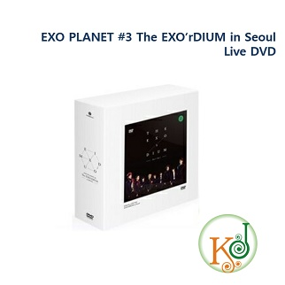 【K-POP・韓流】 EXO PLANET #3 The EXO'rDIUM ? in Seoul Live DVD (コード:ALL) エクソ/おまけ:生写真(8809333432180)