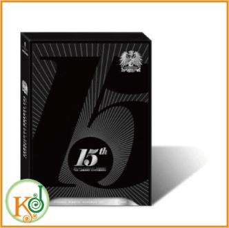 【K-POP・韓流】 神話(SHINHWA) - 15周年記念コンサー 15TH ANNIVERSARY CONCERT THE LEGEND CONTINUES(3 DISC)(8809270580531)(8809270580531)(8809270580531)
