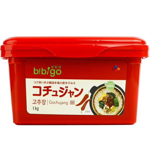 新商品 韓国で売上No.1ブランド最高級の唐辛子を原料に用いて開発した製品です CJ 爆買いセール bibigo コチュジャン 韓国食品 ヘチャンドル 1kg 韓国調味料