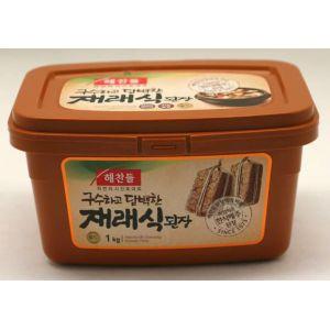韓国伝統の味噌です 注目ブランド へチャンドルテンジャン500g 激安セール