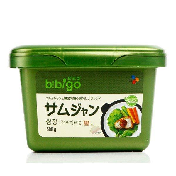 お肉と一緒にお召し上がりください 美味しい合わせ味噌 CJジャパン ヘチャンドル ビビゴ 返品不可 ギフト サムジャン 500g