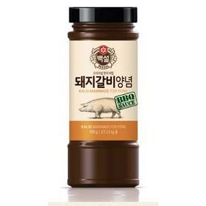 新作からSALEアイテム等お得な商品満載 これは美味しい 韓国つけだれの王道 最安値挑戦 マイルドタイプ 豚カルビ焼き カルビチム 白雪 豚ガルビ用 500g瓶 すり梨入り焼肉のタレ チムダッなどの料理各種炒め物のソースとしてもご使用できます