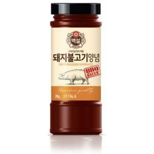 これは美味しい 韓国つけだれの王道 マイルドタイプ 新発売 豚肉を漬け込んで焼くだけです すり梨入り焼肉のタレ 290g瓶 新作からSALEアイテム等お得な商品 満載 豚プルコギ用 白雪