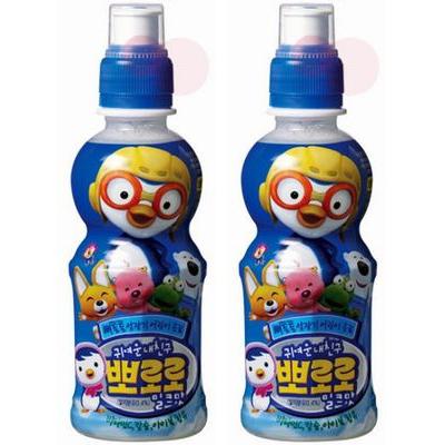 大人気のポロロジュース韓流アイドルも大好きな一品 保障 韓国ヤクルト パルド ポロロジュース ペット ×2本 迅速な対応で商品をお届け致します ミルク味235ml