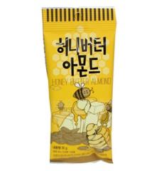 韓国でも話題で人気続出の商品お試しサイズで登場 10袋までネコポス対応可 店内全品対象 30g■お試しサイズ■ 全国どこでも送料無料 ■ミニサイズ■ハニーバターアーモンド