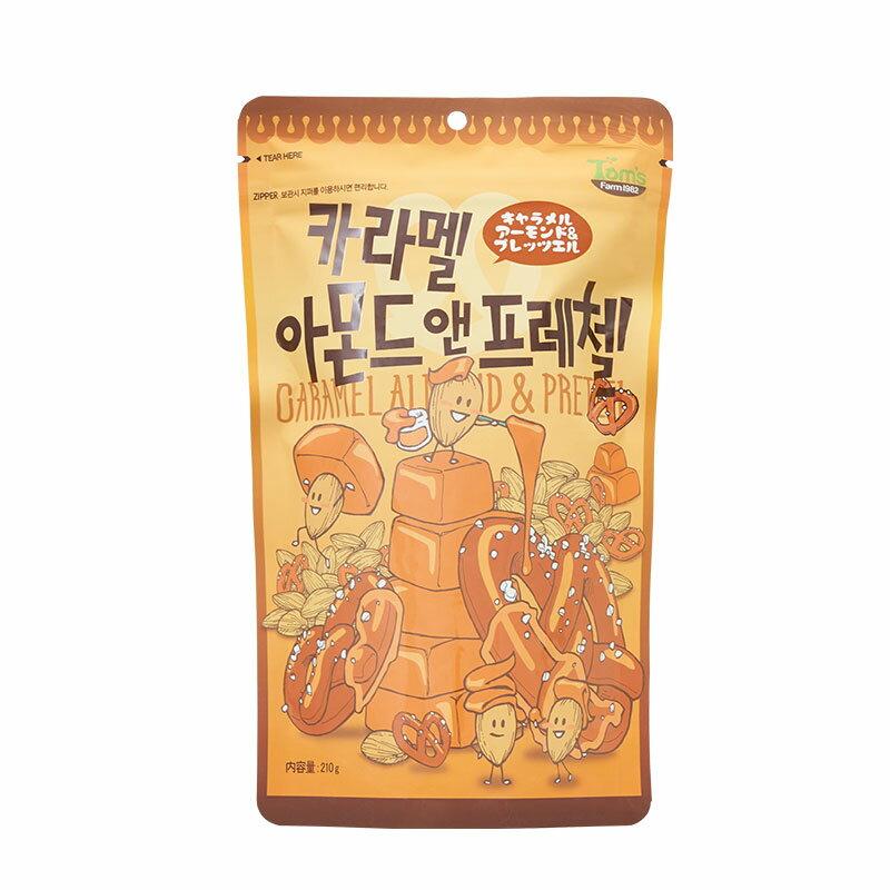 新作通販 ハニーバターシリーズの新商品 ■キャラメルアーモンド 2020 プレッツェル 韓国 210g