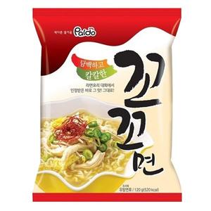 韓国のラーメン大会で優勝したレシピから商品化され韓国で大人気 Paldo ココ麺 モデル着用 注目アイテム 未使用 520kcal 120g