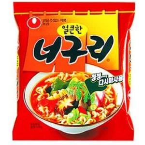 1982年に発売され韓国で凄い人気があるラーメンです サービス ノグリラーメンは韓国風うどんです さっぱりした辛味のスープとシコシコ麺タイプです 120g ノグリラーメン 商品追加値下げ在庫復活 農心