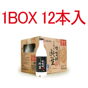 天地水純生マッコリ(ペットボトル)750ml 1ケース(12本入)